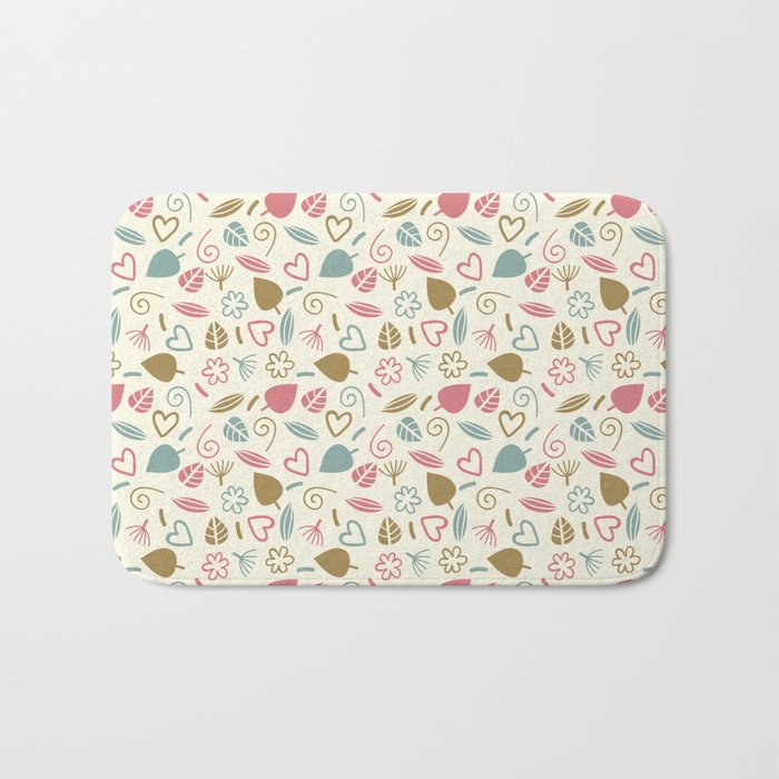Colorful Lovely Pattern XIII Bath Mat