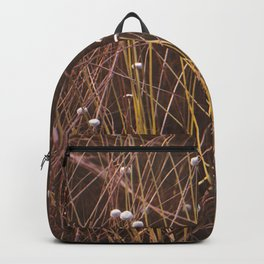 Silver buttons Backpack
