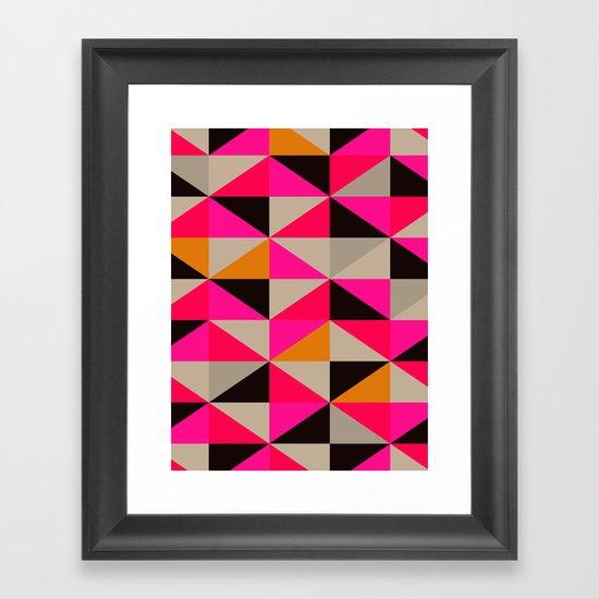 colour + pattern 5 Framed Art Print