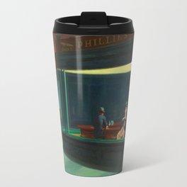 Pennywise in Hopper's Nighthawks Travel Mug