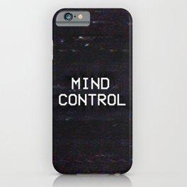 MIND CONTROL iPhone Case