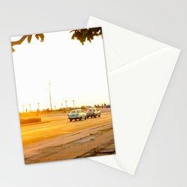 Cuban sunset Stationery Cards
