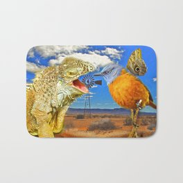 Tourists in Namaqualand Bath Mat