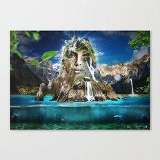 Beyond Nature Canvas Print