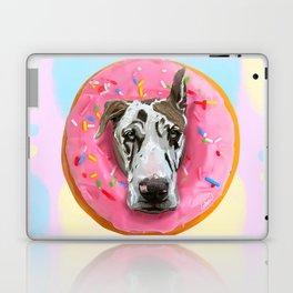 Great Dane Strawberry Donut Laptop & iPad Skin