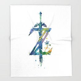 Breath of the Wild Throw Blanket
