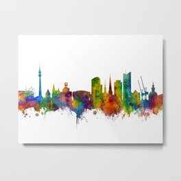 Dortmund Germany Skyline Metal Print