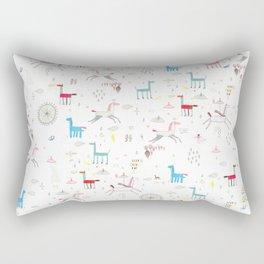 Merry-go-round Rectangular Pillow