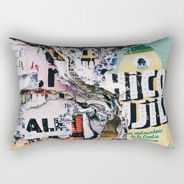 torn paper Rectangular Pillow