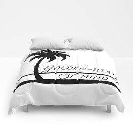 Golden-state of mind Comforters