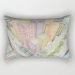 Three Points Rectangular Pillow