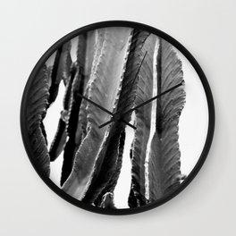 Boho Cactus Wall Clock