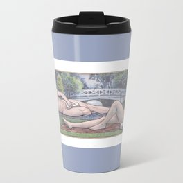 Lily of the Valley Metal Travel Mug
