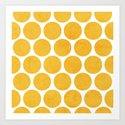 yellow polka dots by herart