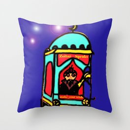 Zoltar Throw Pillow