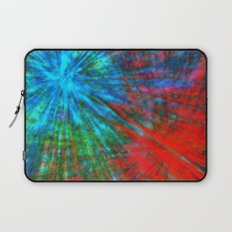 Abstract Big Bangs 001 Laptop Sleeve