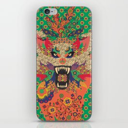 Wolf Woman  iPhone Skin