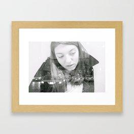 double exposer  Framed Art Print