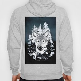 Forest Wolf Art Hoody