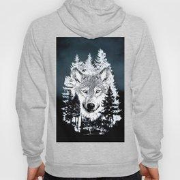 Forest Wolf Art Hoody