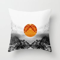 xbox Throw Pillows featuring Why down the circle by Stoian Hitrov - Sto