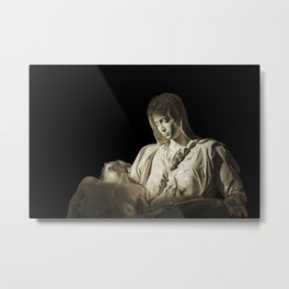 Pieta - The Sorrow of Mary Metal Print
