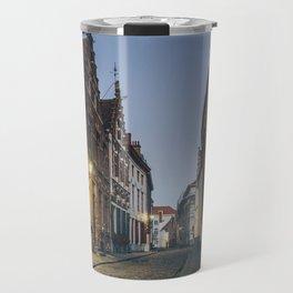 Street in Bruges Travel Mug