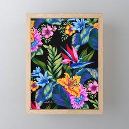 Jungle Vibe Framed Mini Art Print