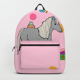 Mini horse party Backpack