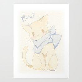 Meow? Art Print