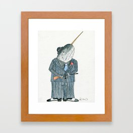 Paulie the Stick Framed Art Print