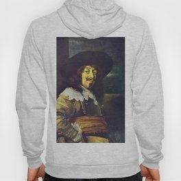 Portrait of an Officer by Frans Hals Hoody