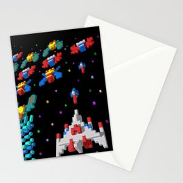 Inside Galaga Stationery Cards