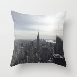 New York City, New York Throw Pillow
