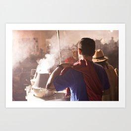 Comme superman Art Print