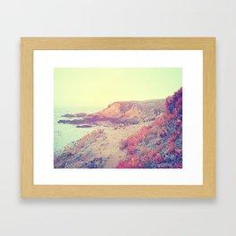 Quiet Shore Framed Art Print