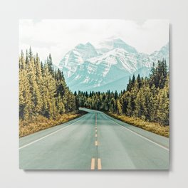 Road Trip #photography #travel Metal Print