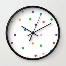 Candy Spots Wall Clock