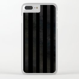 Modernist Stripes Clear iPhone Case