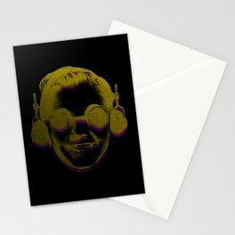 Headphone Kid Stationery Cards