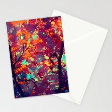 autumn tree X Stationery Cards