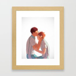 I care about you Framed Art Print