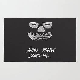 Normal people scare me Rug