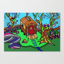 Tiny House Canvas Print