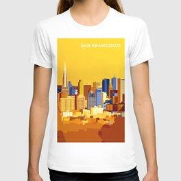 San Francisco on a sunny day T-shirt