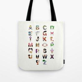 DB Alphabet Tote Bag