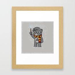 Bearry Potter Framed Art Print