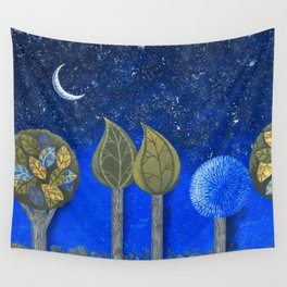 Night Grove Wall Tapestry