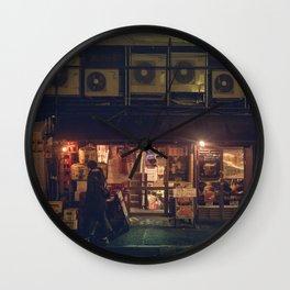 Vintage vibes in Tokyo Wall Clock