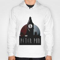 peter pan Hoodies featuring Peter Pan by Rowan Stocks-Moore